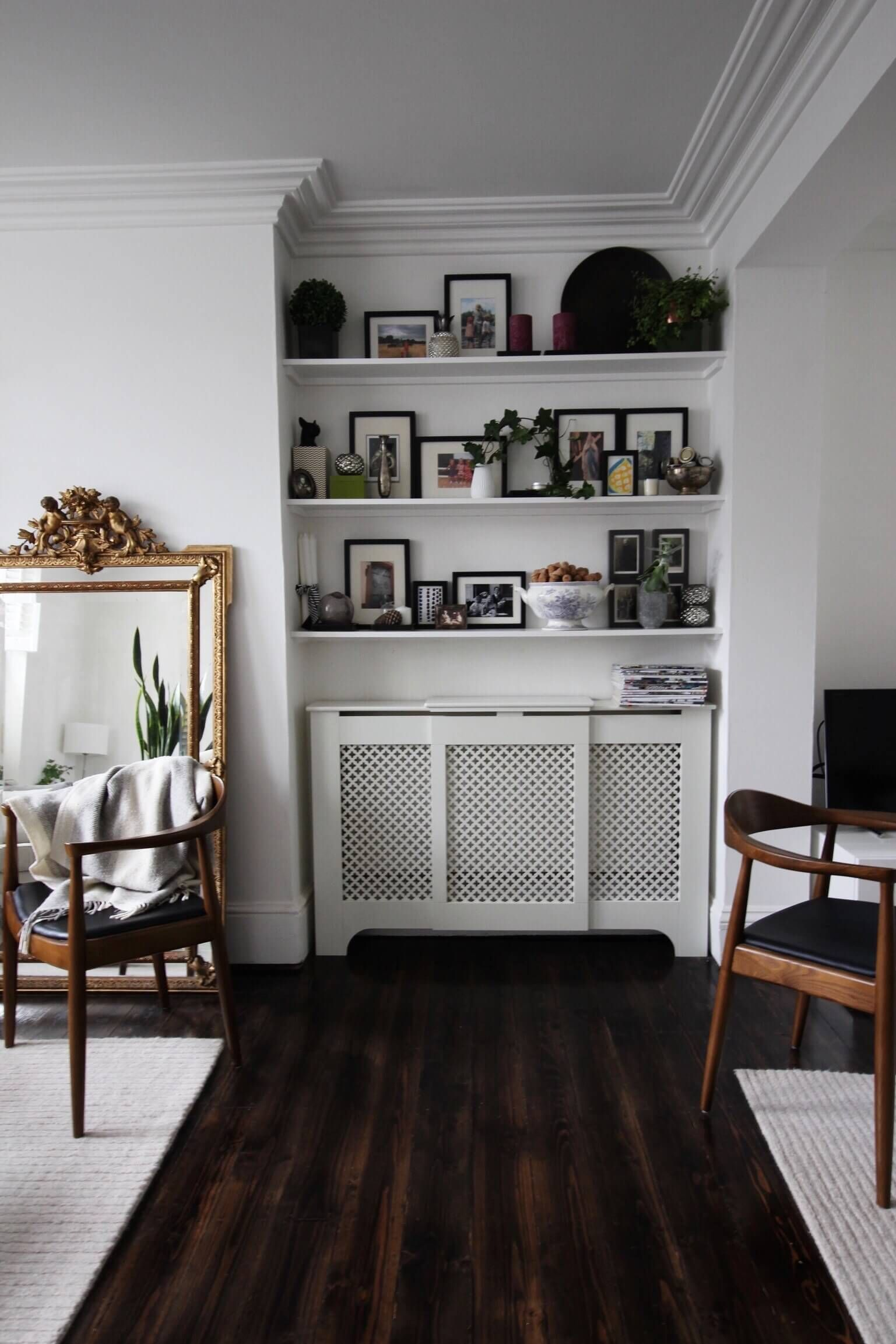 How to arrange a long and narrow living room part blogger