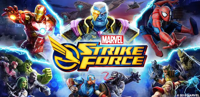 Free Game App Download MARVEL Strike Force Marvel