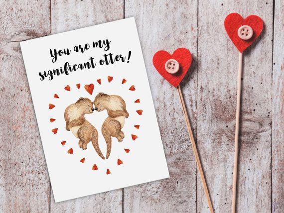 cute love cardotter cardfunny love cardscute cardssignificant otterprintable romantic cardprintable anniversary cardromantic cards