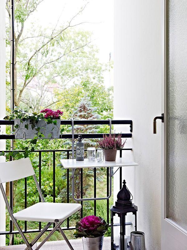 Un piso con estilo y un encantador aire italiano c modo for Pisos para patios pequenos