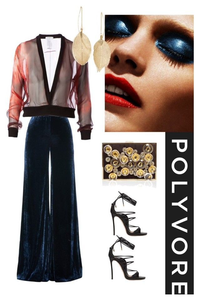 """#polyvore"" by is-tanja-ti ❤ liked on Polyvore featuring Emilio Pucci, Givenchy, Dsquared2, Monique Lhuillier and Lulu*s"