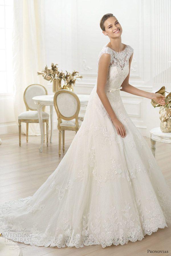 pronovias wedding dresses — costura 2014 pre-collection | costura