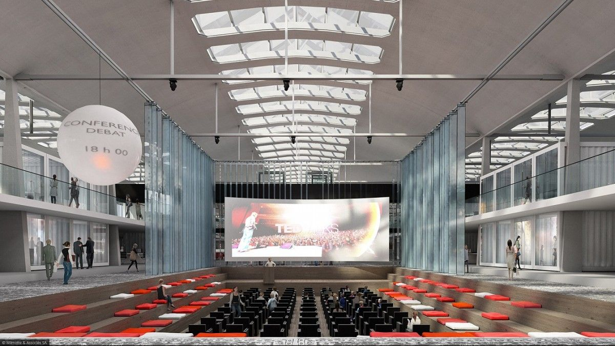 Halle Freyssinet Wilmotte wilmotte & associés transforment la halle freyssinet | archi