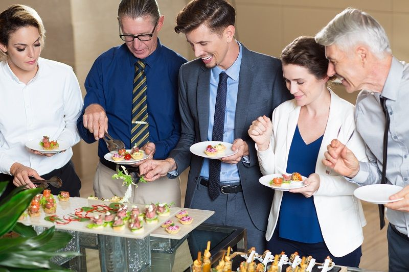 Right Business Catering Service Adds Spice to Your