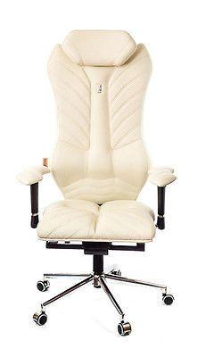 Executive Orthopedic Chair Luxury Office Home Armchair Kulik System Eco Leather Ergonomic Office Furniture Office Furniture Design Chair