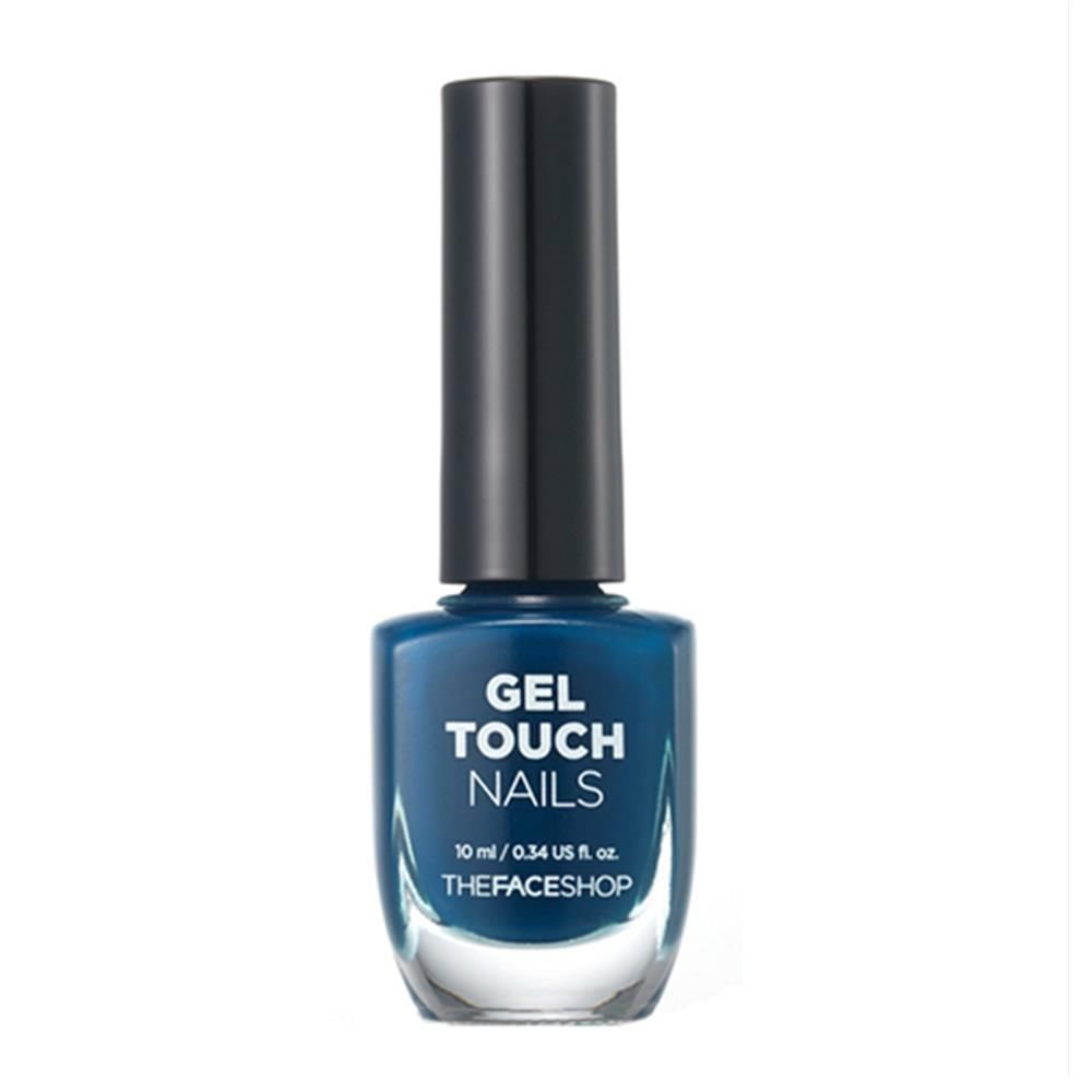 The Face Shop Gel Touch Nails BL603 1983 Blue 10ml   eBay Price:US ...