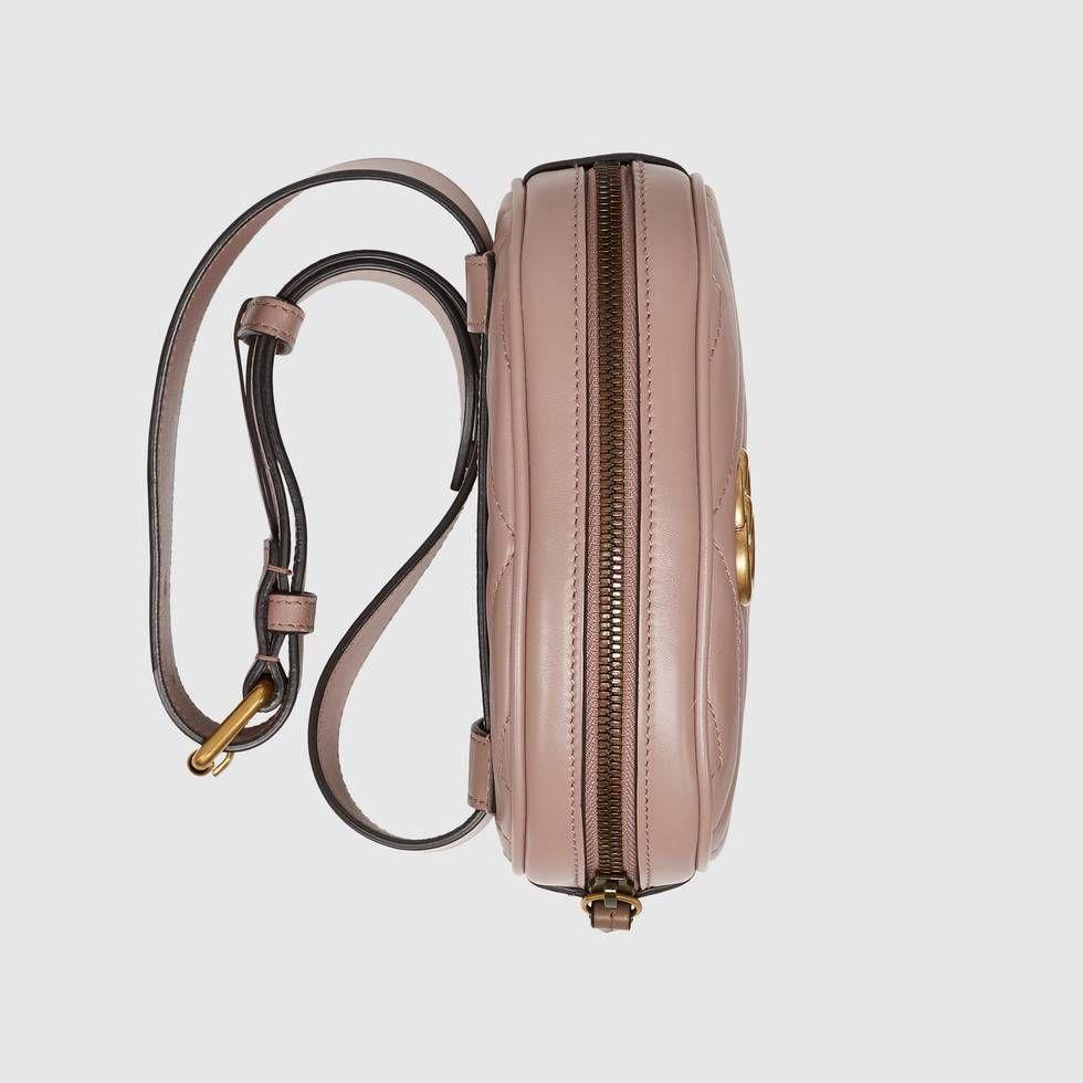 Voir les Sac ceinture GG Marmont en cuir matelassé Gucci. Le sac ceinture  GG Marmont 4abba5c9aa2