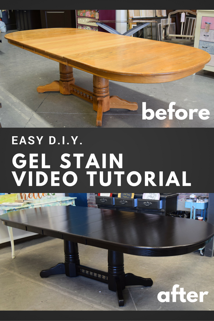 How To Apply Gel Stain By General Finishes Staining Furniture Staining Wood Gel Stain Furniture