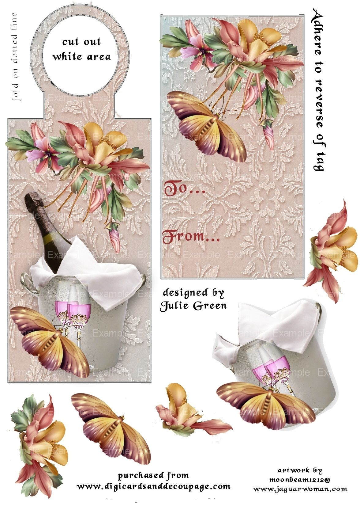 free decoupage downloads for card making