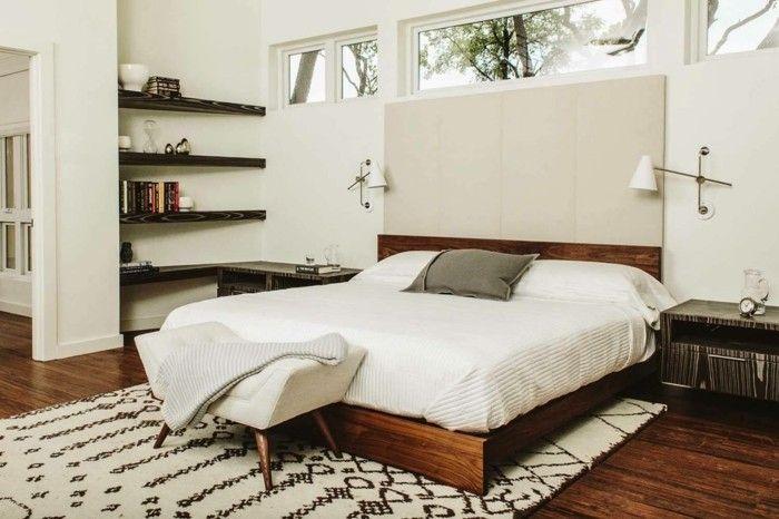 modernes schlafzimmer helle textilien Schlafzimmer Ideen - modernes schlafzimmer komplett