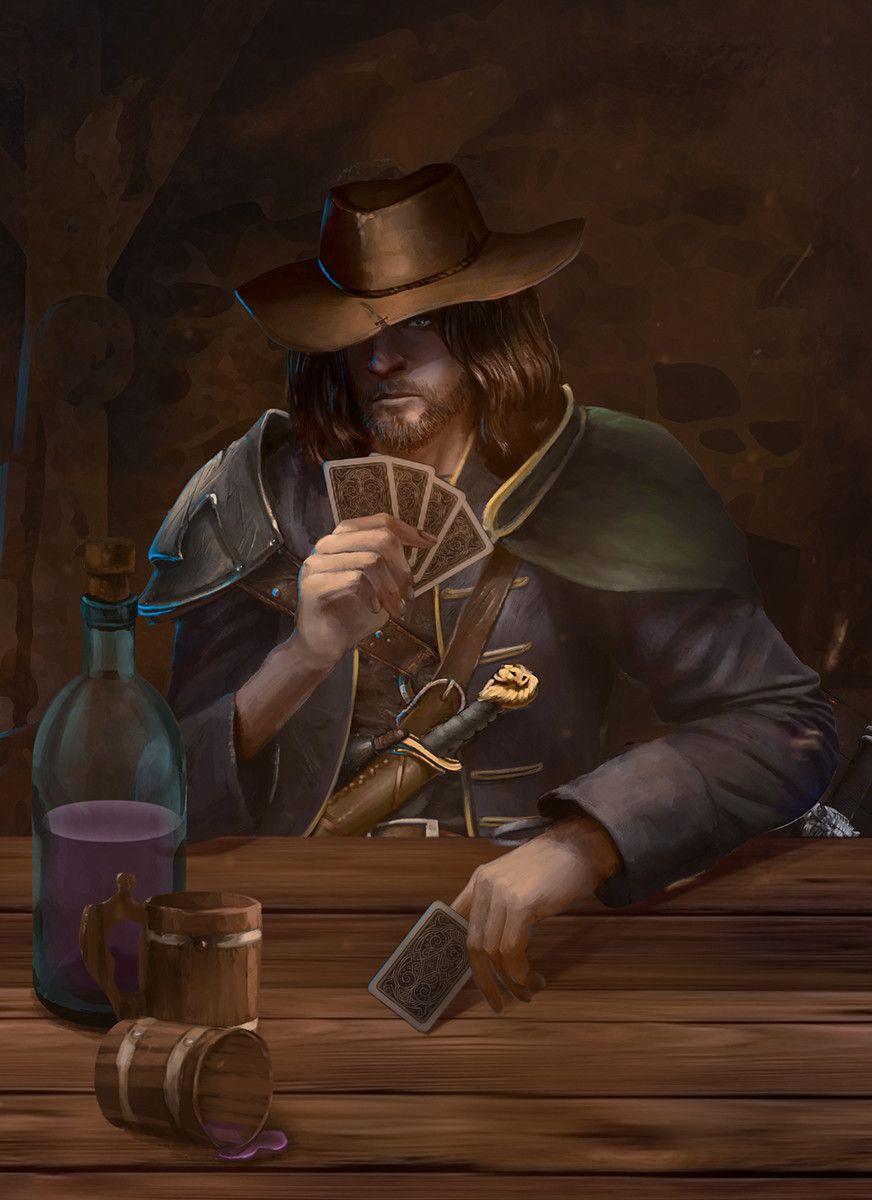 Artstation Bromley Lionbrand Vlad Ogorodnyk Fantasy Character Design Arcane Trickster Concept Art Characters