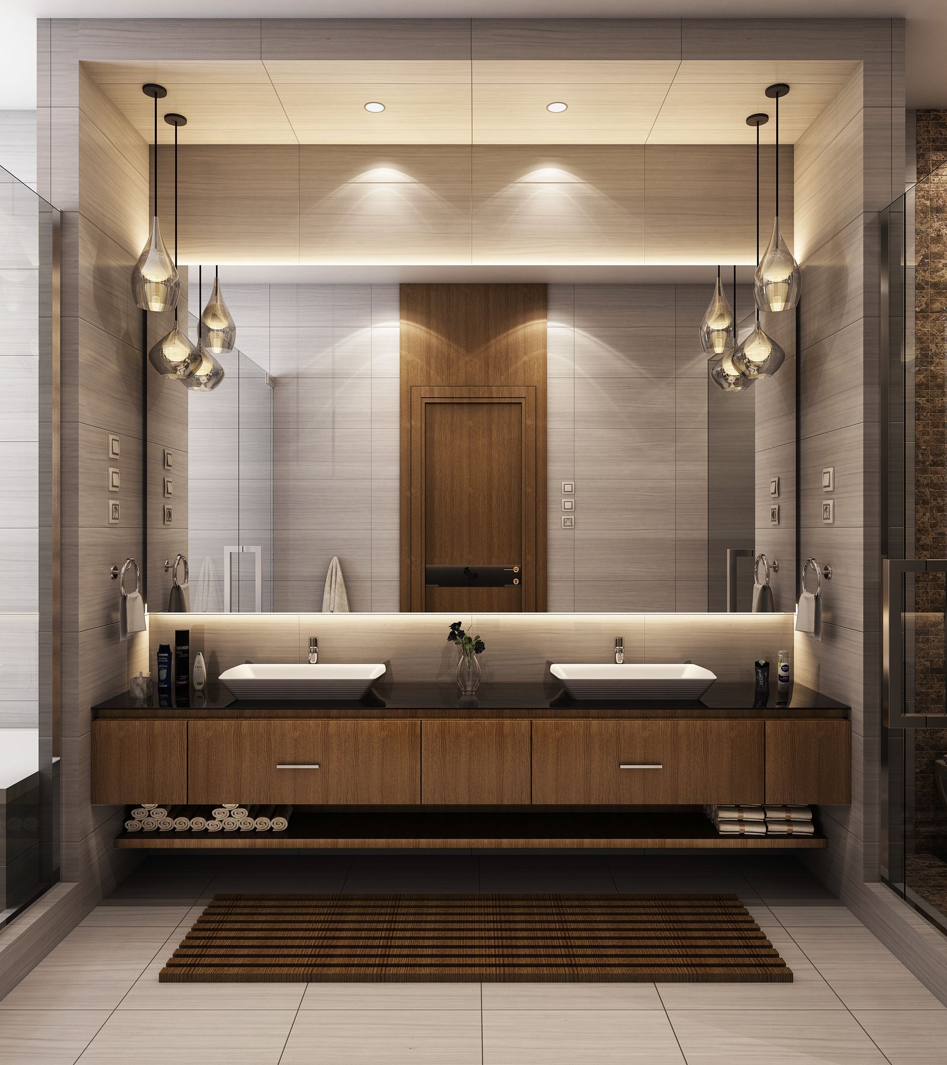 Modern Bathroom On Behance