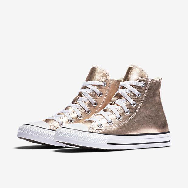 Converse Chuck Taylor All Star Metallic High Top Women s Shoe ... 169de94dc