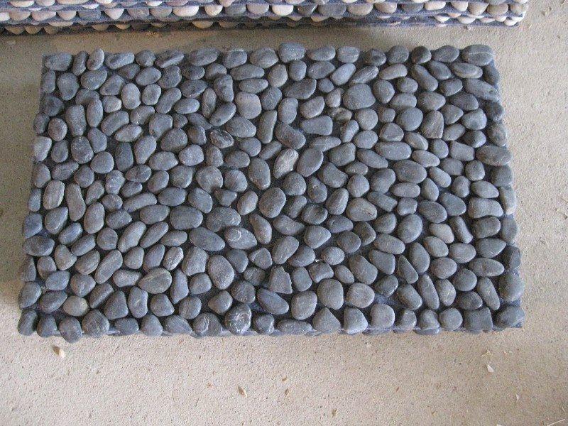 How To Make A Diy River Rock Doormat Diy River Rock River Rock Decor Door Mat