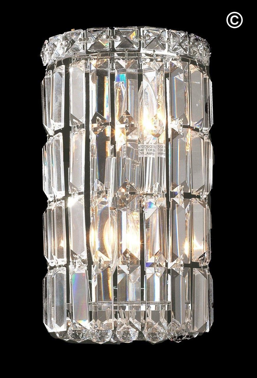 Modular Wall Sconce Light Round Chrome Wall Sconce Lighting Wall Sconces Crystal Wall Sconces