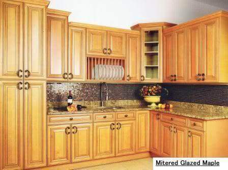 Nea Glazed Maple Wholesale Kitchen Cabinets Kitchen Cabinets Cheap Kitchen Makeover