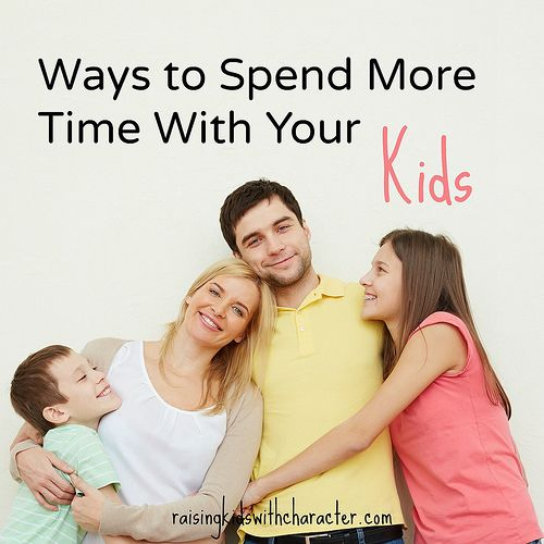 "Podcast Notes for ""Ways To Spend More Time With Your Kids"" by Character Ink"