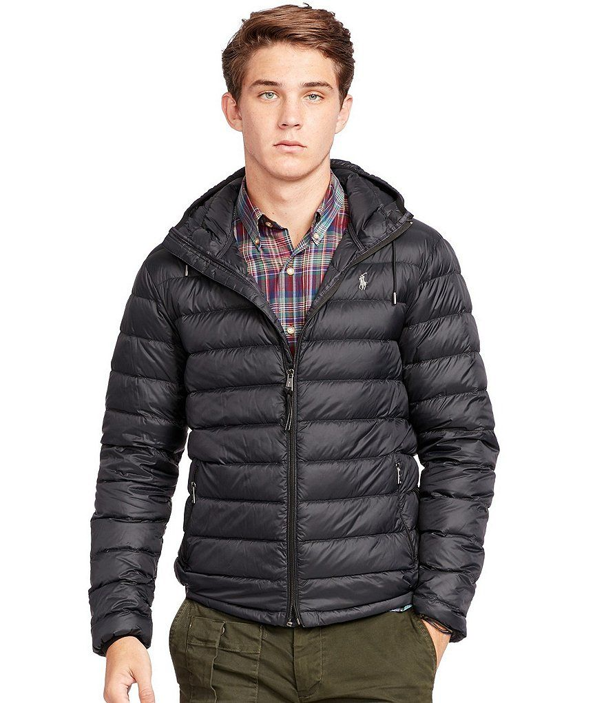 Polo Black:Polo Ralph Lauren Packable Down Jacket