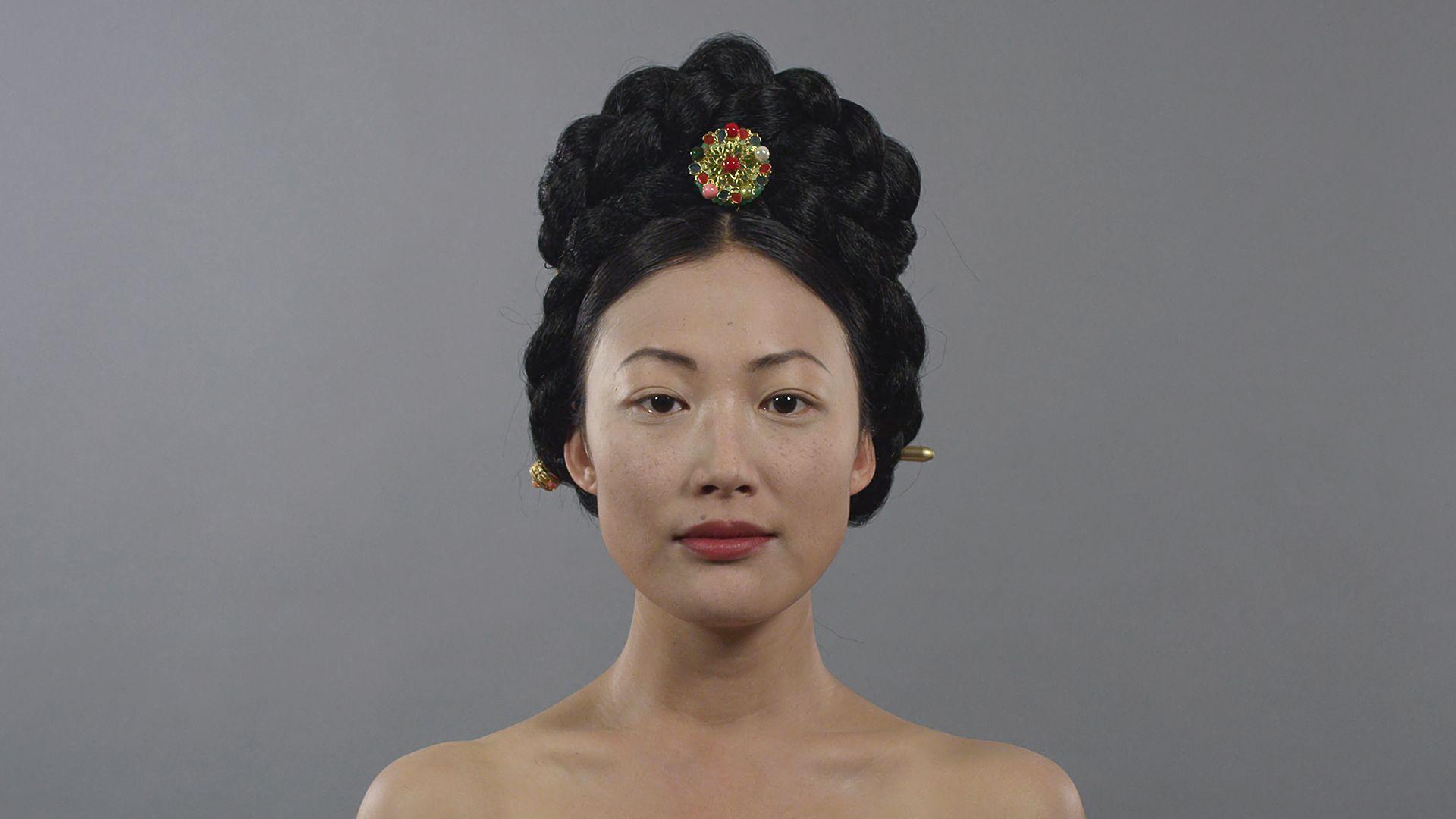 1910s Korea joseon binyeo hair makeup style fashion