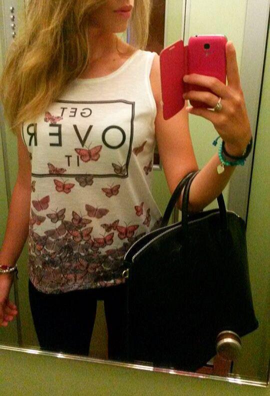t shirt butterfly