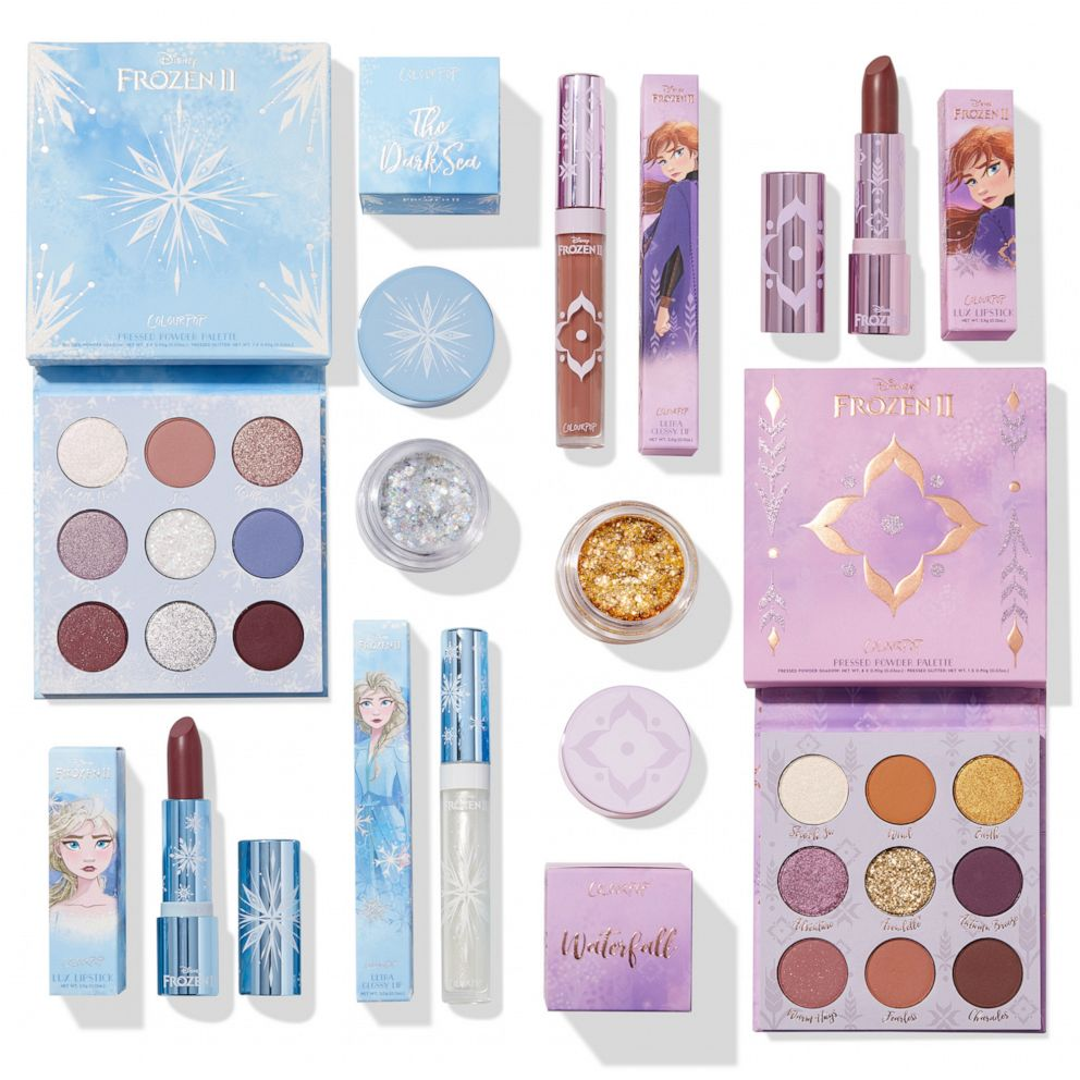 Keep Cool With Colourpop S New Frozen 2 Makeup Collection In 2020 Disney Makeup Makeup Collection Frozen Makeup