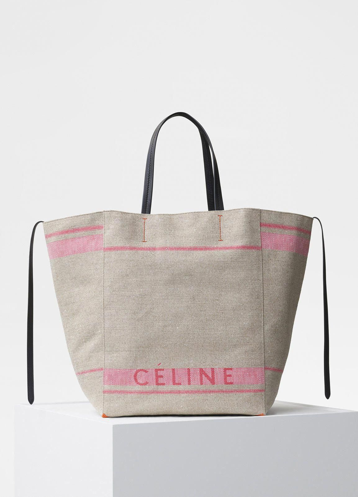 e1ed17282 Large Cabas Phantom Bag in Celine Canvas - Céline #Designerhandbags ...
