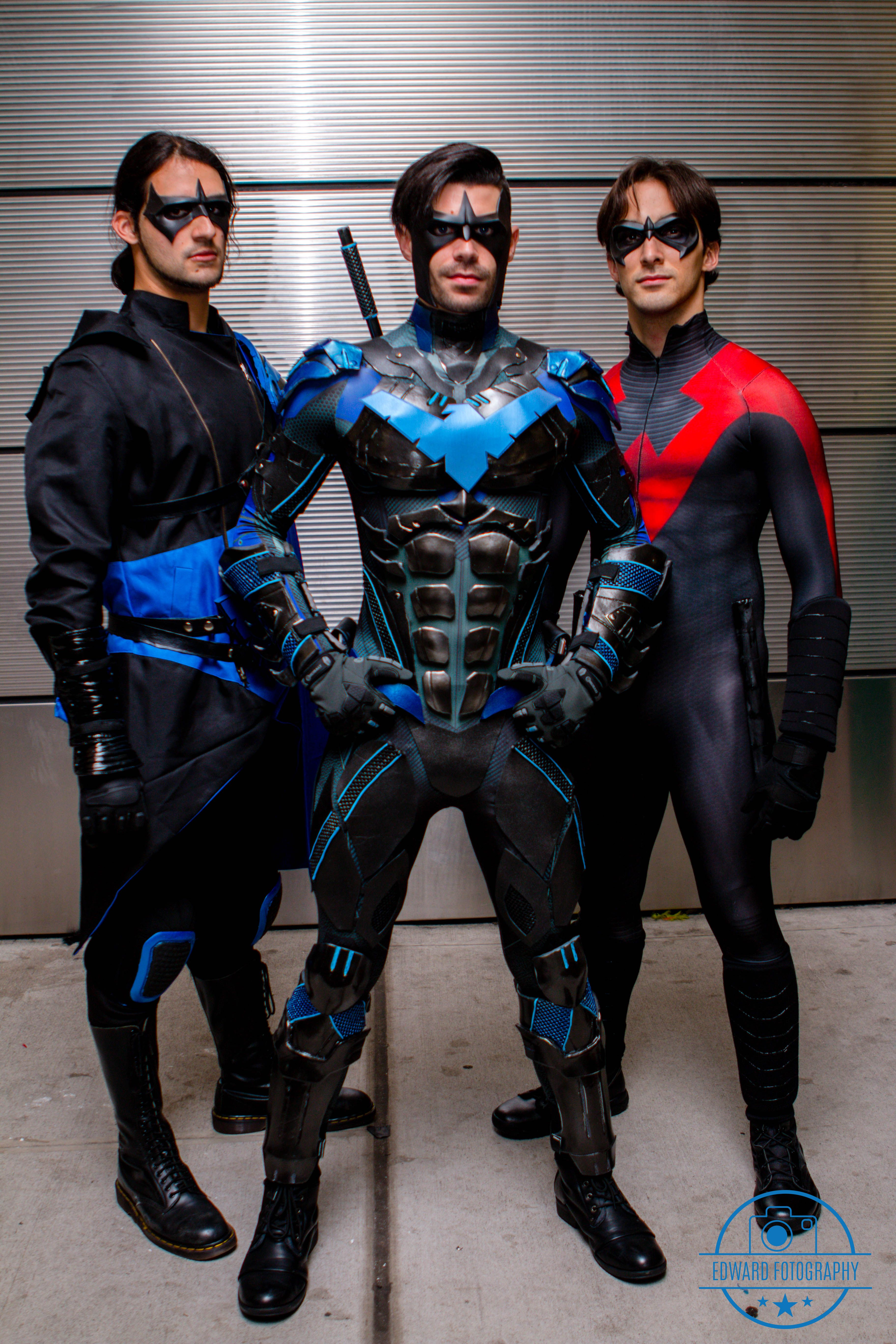 These guys are killing it awesome nightwing cosplays by awesome nightwing cosplays by fenixember cosplay solutioingenieria Images