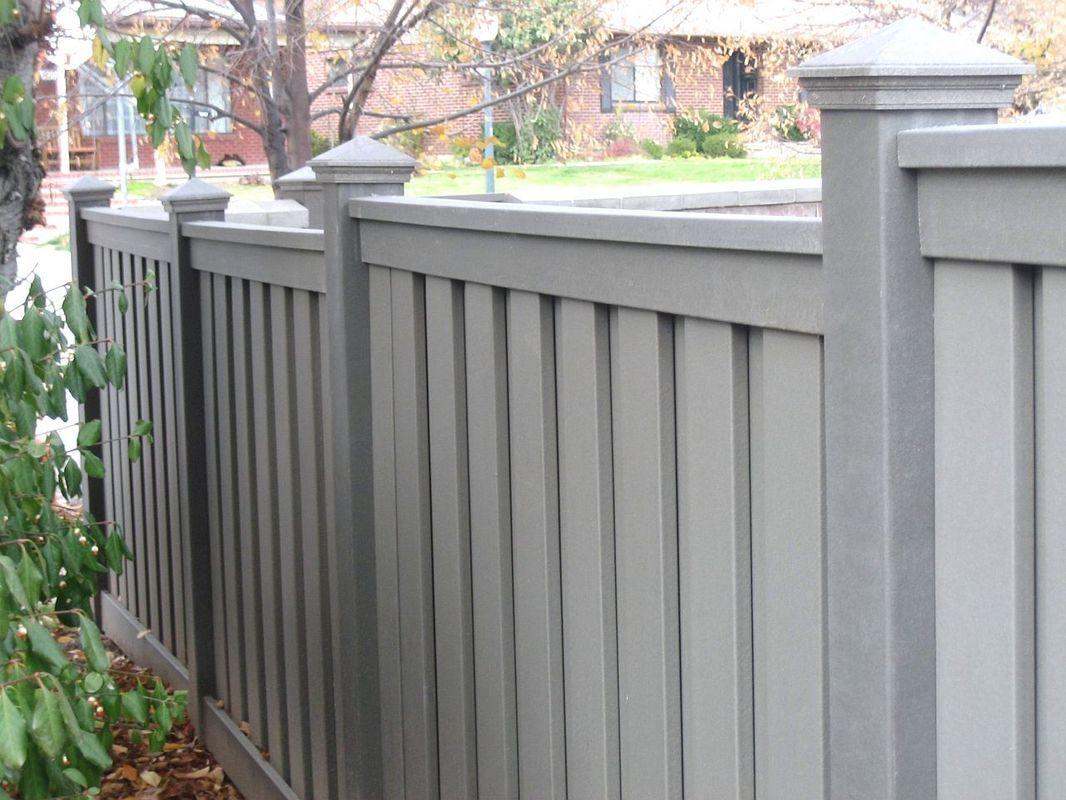 Picture Backyard Fences Fence Design Fence Landscaping