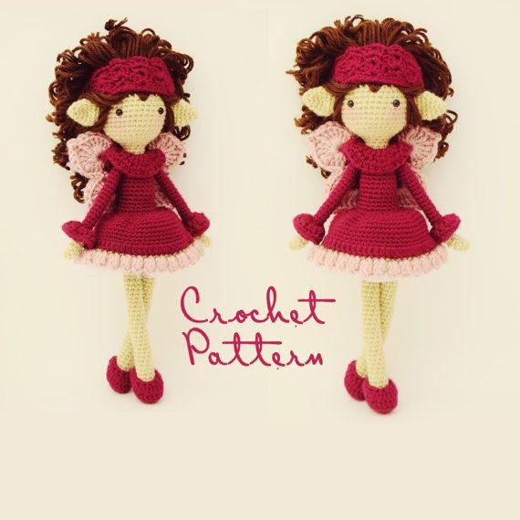 Amigurumi+Pattern+/+Crochet+Doll+Pattern+/+by+FoxintheSnowDesigns ...