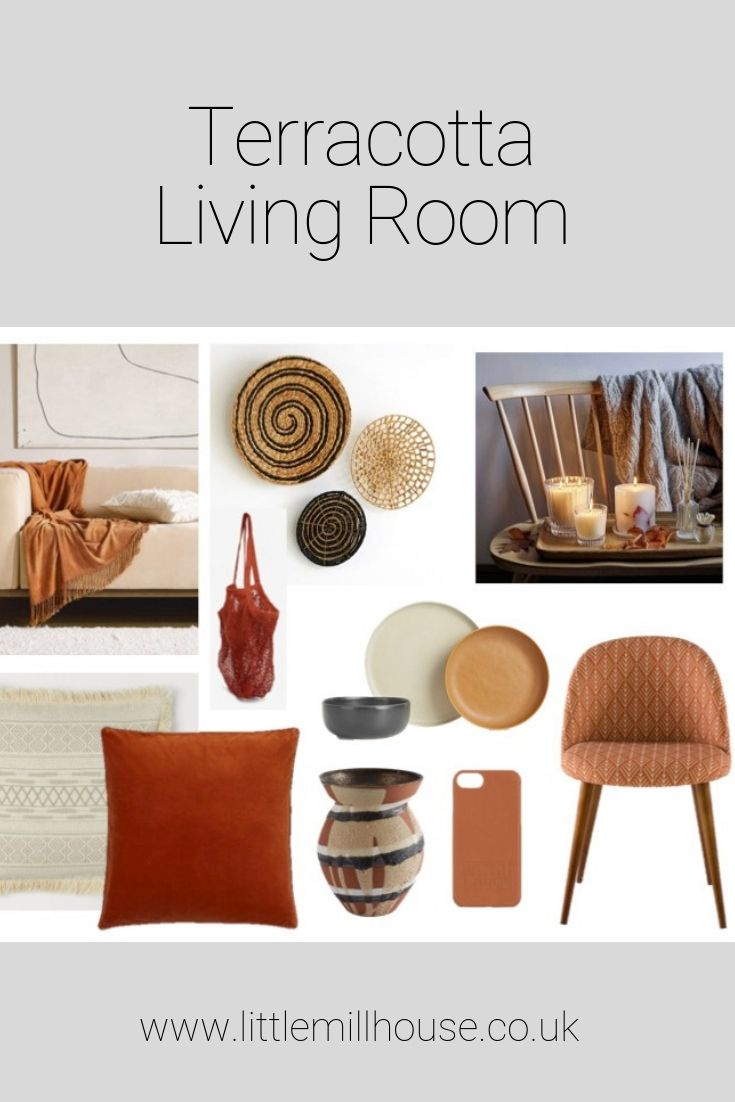 Photo of Adding Terracotta & Rust tones to your living room home decor…