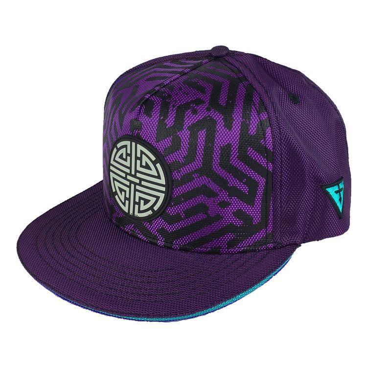 Labyrinth purple snapback hats cap snapback