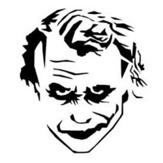 Paling Keren Gambar Joker Keren Hitam Putih Nation Wides