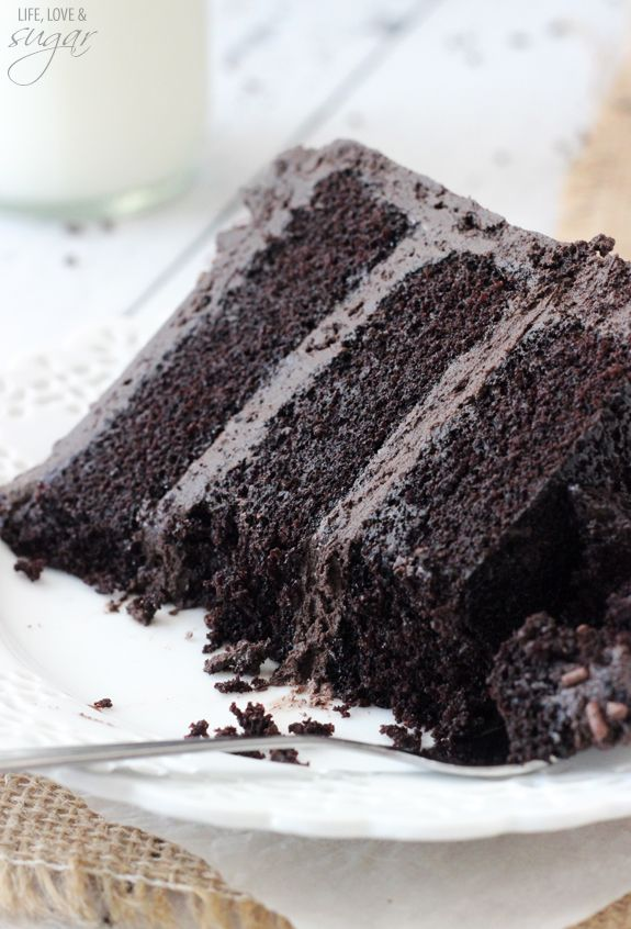 The moistest chocolate cake ever recipe