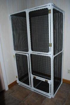 how to make a dog cage divider