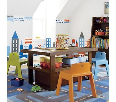 Outstanding I Love This Adjustable Kids Table With Storage For Our Dailytribune Chair Design For Home Dailytribuneorg