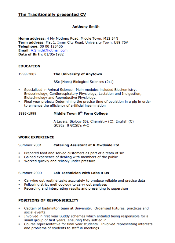 Lab Technician Sample Cv Free Resume Sample Free Resume Samples Resume Template Examples Sample Resume Templates