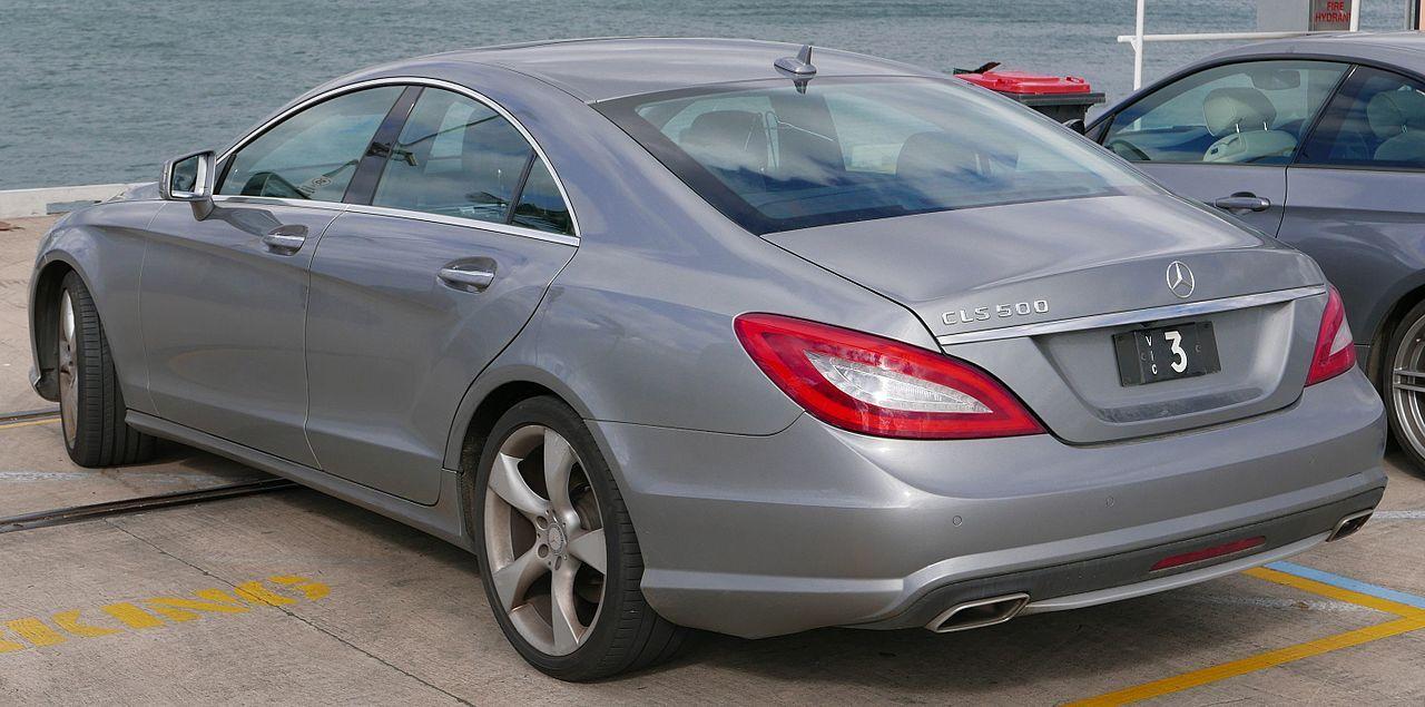 2013 Mercedes Benz Cls 500 C 218 Blueefficiency Sedan 2015 08