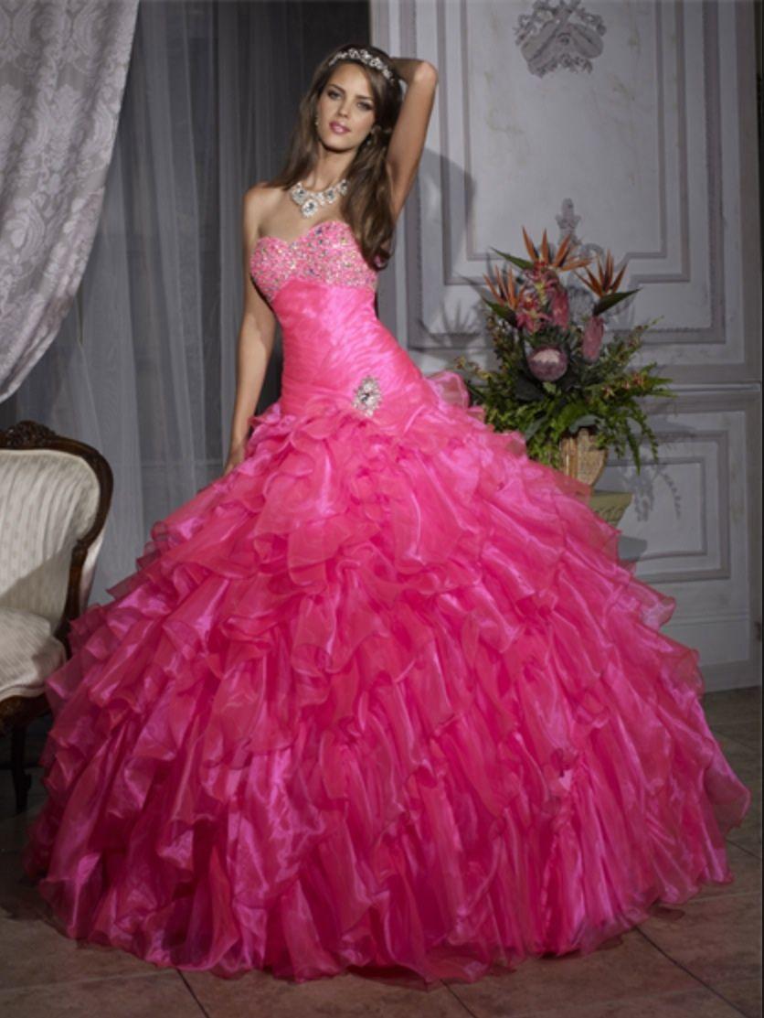367ef6a7d660 Hot Pink Quinceanera Dresses 2013 - raveitsafe