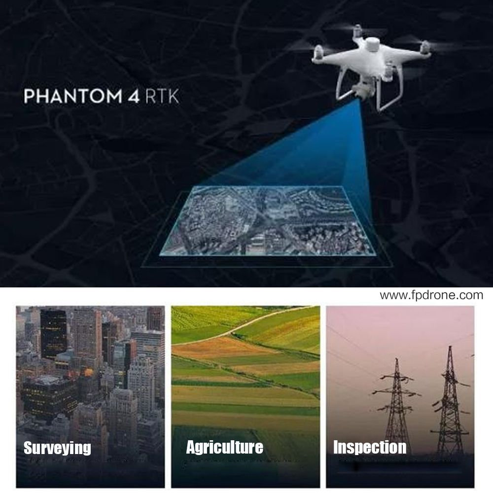 DJI Phantom 4 RTK in stocks  Phantom 4 RTK , as professional