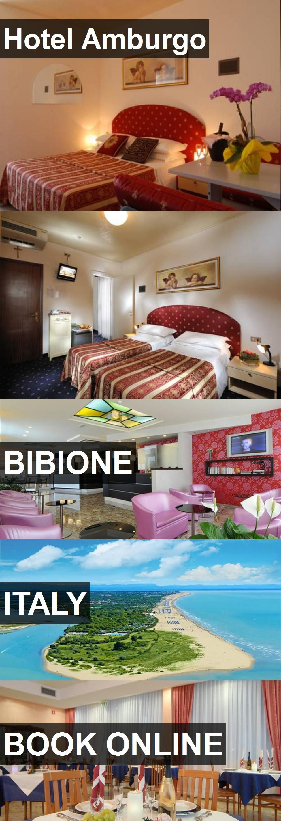 Hotel Amburgo in Bibione, Italy. For more information