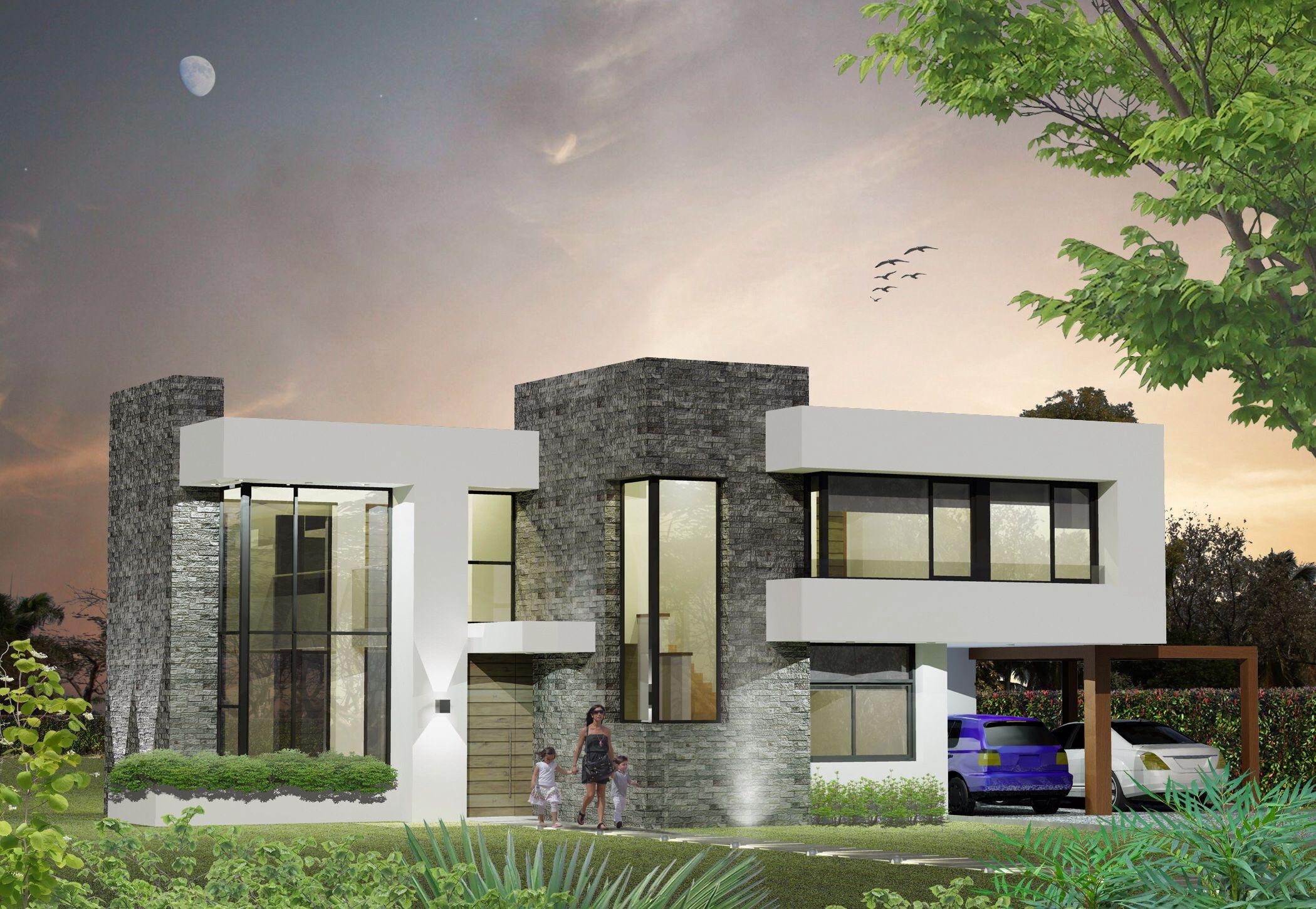 Arquitectura contempor nea moderna uruguay bazzurro for Casa minimalista uy