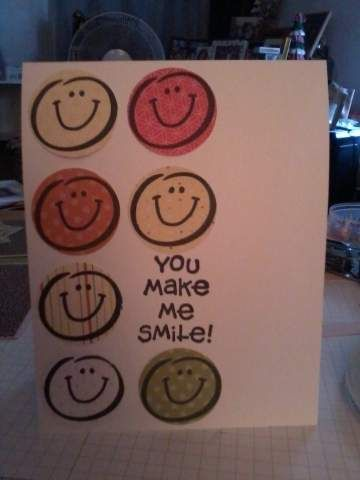 SU You Make Me Smile by StmpnMoira  cased from C4C140_2012jun9 try with SU Smilie set in circles!
