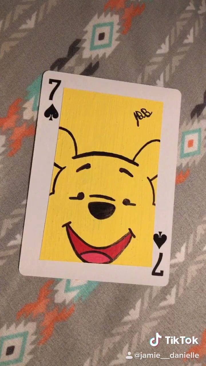 Painting Disney Cards Day 9 Pooh Video Mini Canvas Art Disney Canvas Art Cute Canvas Paintings