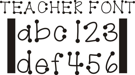 26 Free Fonts for Teachers | Teaching and Fonts