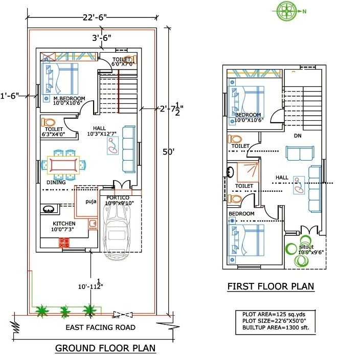 Download sq ft house plans east facing adhome also rh pinterest