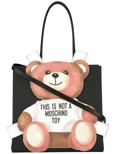 3aa354810eb3 MOSCHINO teddy bear tote bag.  moschino  bags  leather  hand bags  tote