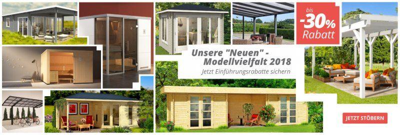 Neuheiten Gartenhaus, Gartenhaus gmbh, Haus
