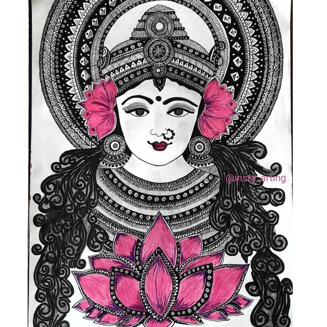 The Hindu Goddess Lakshmi is the consort of Lord Vishnu
