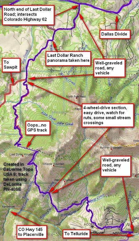 Last Dollar Road To Telluride Colorado Telluride Colorado