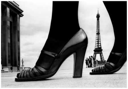 Shoes and Effel Tower D, Paris 1974 Photo Frank Horvat
